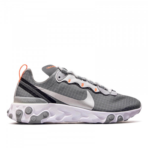 Nike React Element 55 Grey Silver