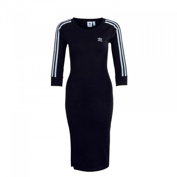 Damen Kleid - 3 Stripes H38732 - Black
