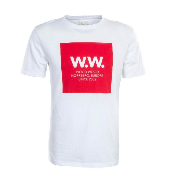Wood Wood TS WW Square White Red