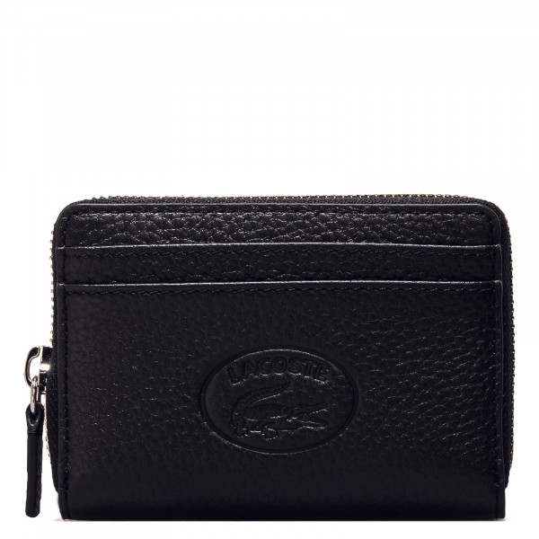 Geldbörse - Zip Coin Wallet XS - Black