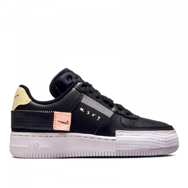 Unisex Sneaker AF1 Type Black White Grey