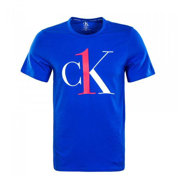 Herren T-Shirt - Crew Neck 1903 Kettle - Blue / Bright / Multi