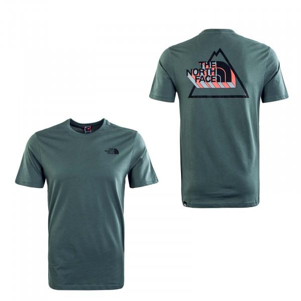Herren T-Shirt - 3Yama - Balsam Green