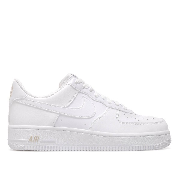 Nike Air Force 1 `07 White Metallic Gold