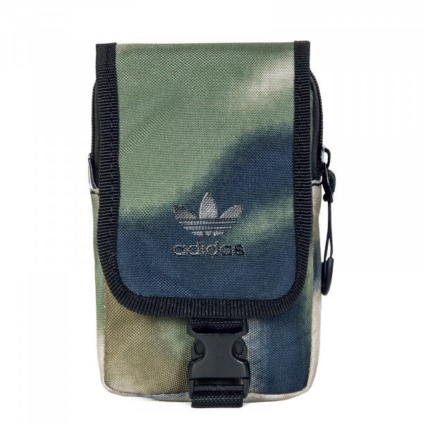 Cross Bag - Camouflage Map Bag - Hemp Wilpin Black