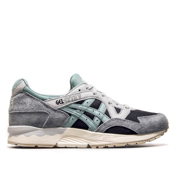 Asics Gel Lyte V Black Blue Surf