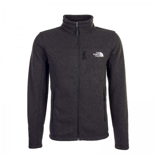 Northface Fleecejkt Gordon Heather Black
