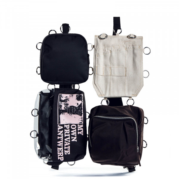 Pocketbag L Raf Simons Black Beige