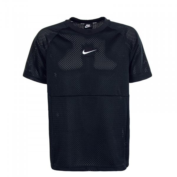 Herren T-Shirt NSW Nike Air Black Black White