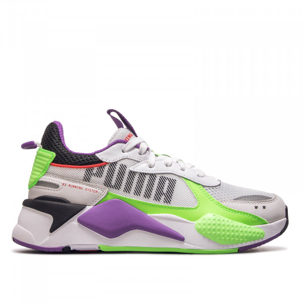 Unisex Sneaker RS-X Bold White Green Purple
