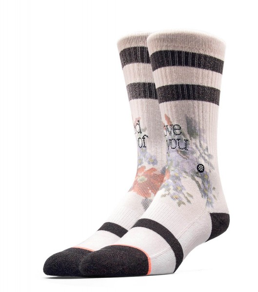 Stance Wmn Socks Maybe Baby White