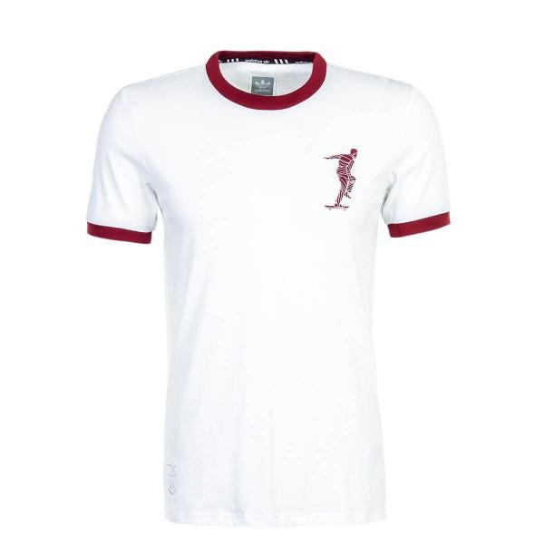 Adidas TS Magenta White Bordo