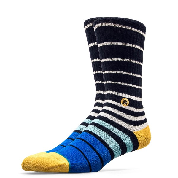 Stance Socks Thermo Navy Blue Yellow