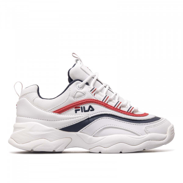 Fila Wmn Ray Low White Navy Red