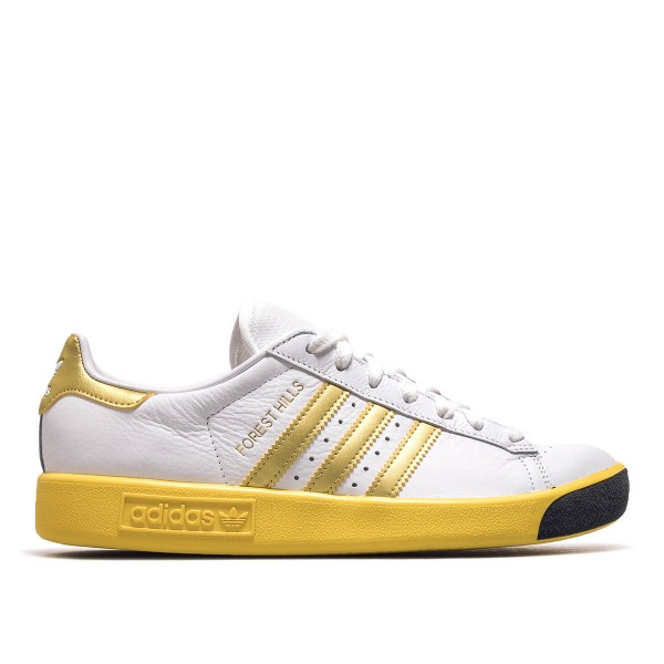 Adidas Forest Hills White Gold Yellow