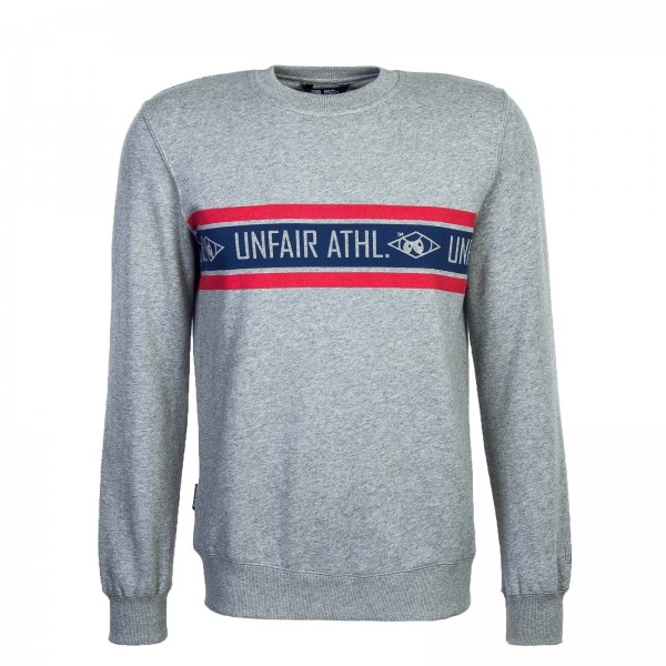 Unfair Sweat Athl.Stripes Crewneck Grey