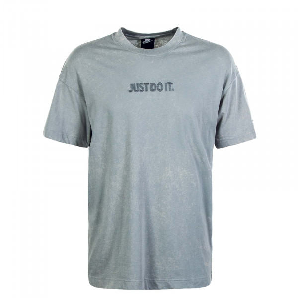 Herren T-Shirt  NSW JDI SS Wash Light Sky Grey