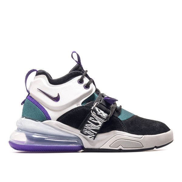 Nike U Air Force 270 Black Grey Purple