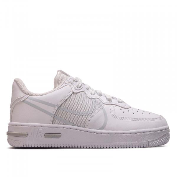 Unisex Sneaker Air Force 1 React White Pure Platinum