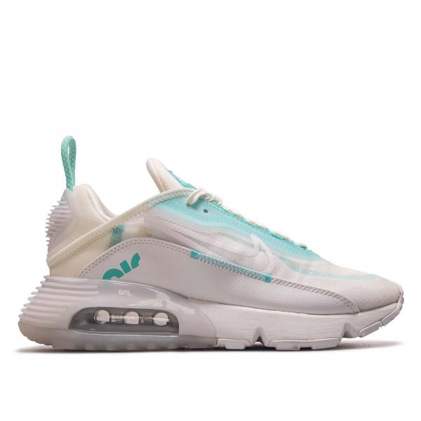 Damen Sneaker Air Max 2090 White Green