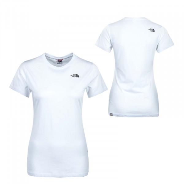 Damen T-Shirt - Simple Dome - White
