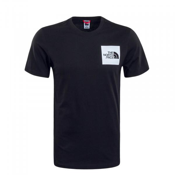 Herren T-Shirt Fine Black