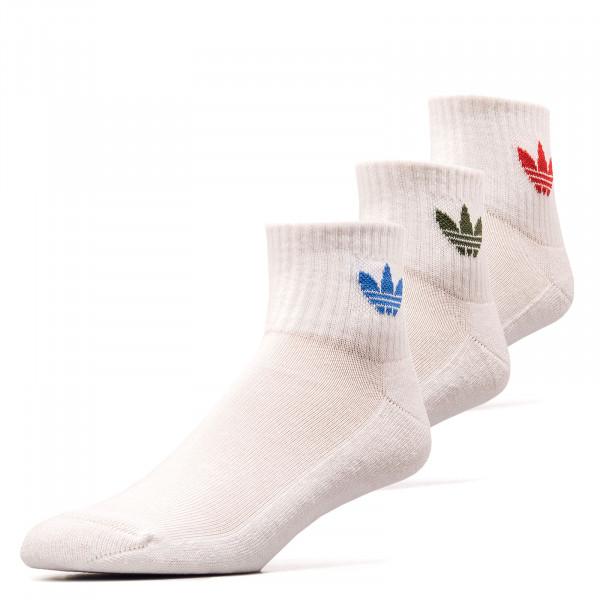 Socken 3erPack - Mid Ankle - White
