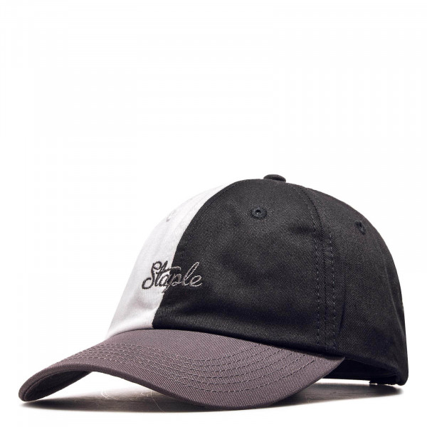 Staple Cap Pigeon Twill Black White Grey
