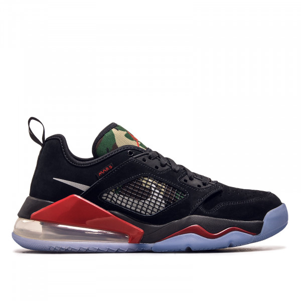Herren Sneaker Mars 270 Low Black Metallic Silver Red