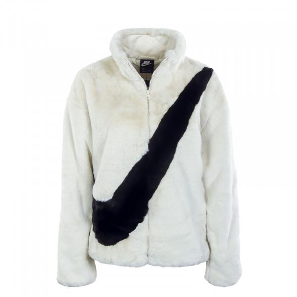 Damen Winterjacke - Faux Fur - Fossil / Black