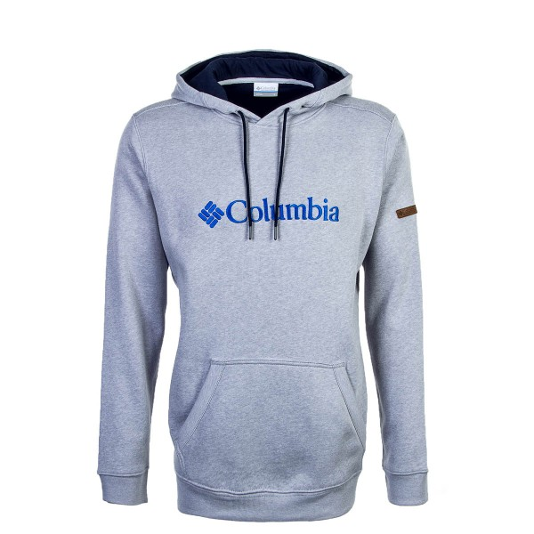 Columbia Hoody Basic Logo Grey Blue