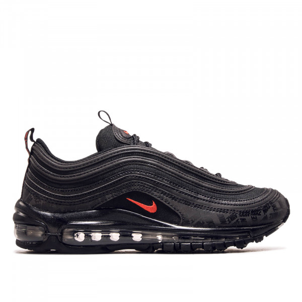 Herren Sneaker Air Max 97 Black Red