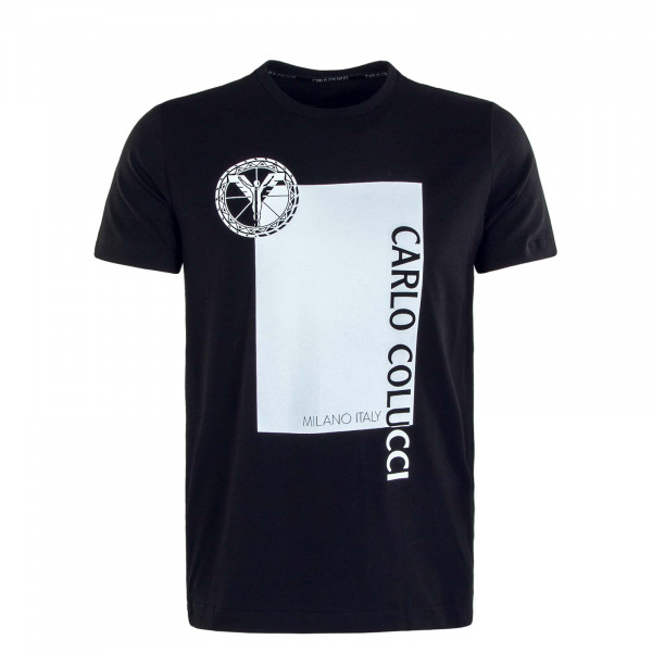 Herren T-Shirt C2331 201 Black White