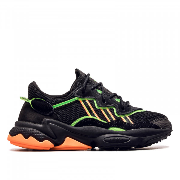 Unisex Sneaker Ozweego Black Orange Green
