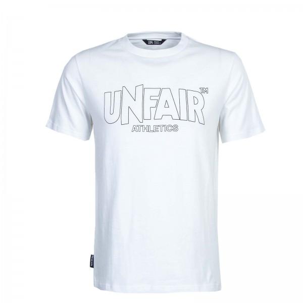 Unfair T-Shirt ClassicLabelOutlines Whit