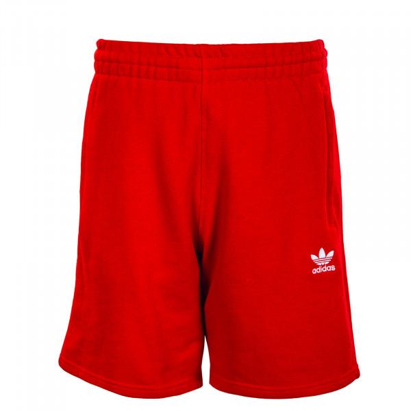 Herren Shorts - Essential - Red / White