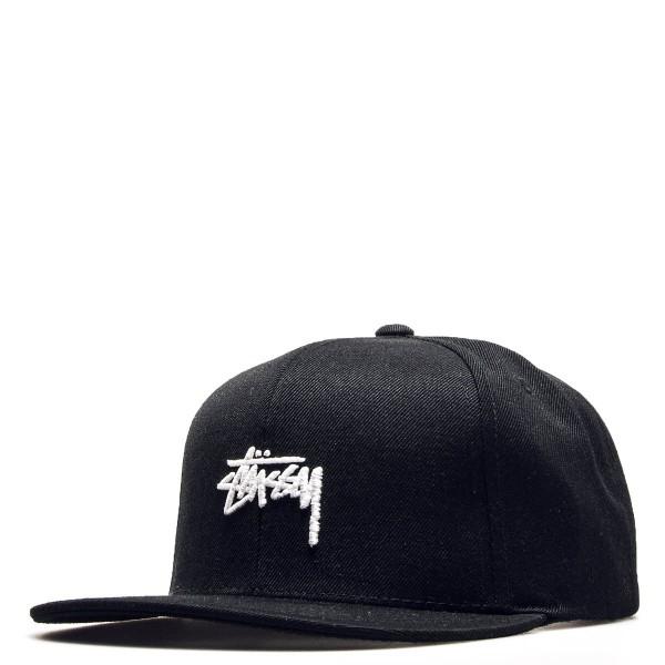 Stüssy Cap Stock Black