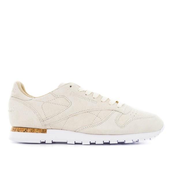Reebok Cl Leather Beige White
