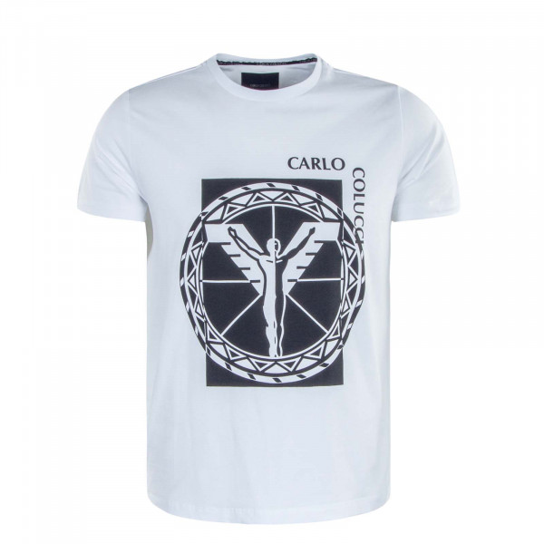 Herren T-Shirt C2332 291 White Black