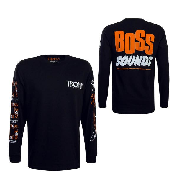 Carhartt T-Shirt Trojan Boss Sounds Black