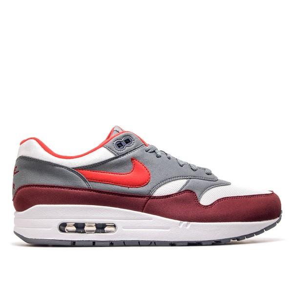 Nike Air Max 1 White Bordo Red