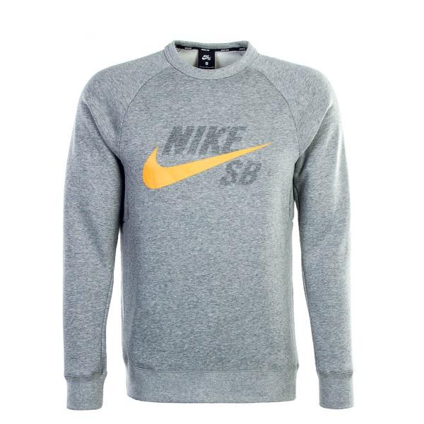 Nike SB Sweat Icon Grey Orange