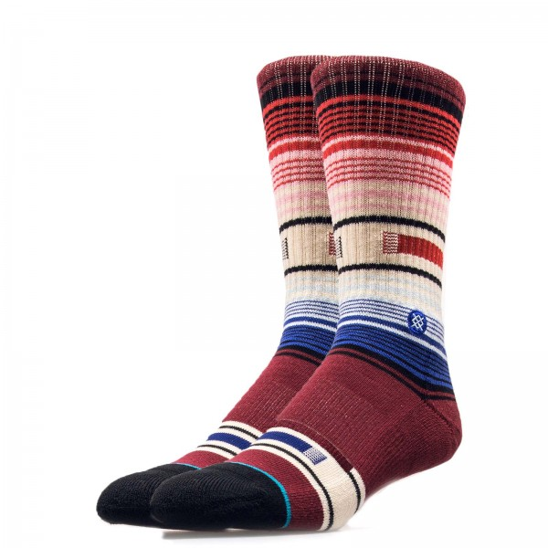 Stance Socks Foundation Hatchets Bordo