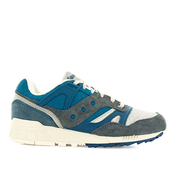 Saucony Grid SD Blue Grey Beige
