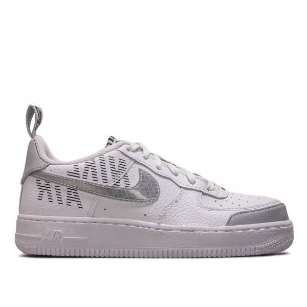 Damen Sneaker Air Force 1 LV8 2 GS White Grey