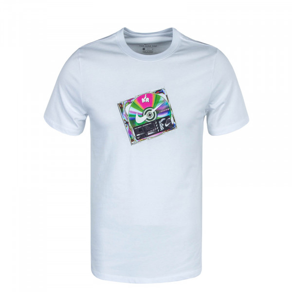 Herren T-Shirt Music CD CW0402 White