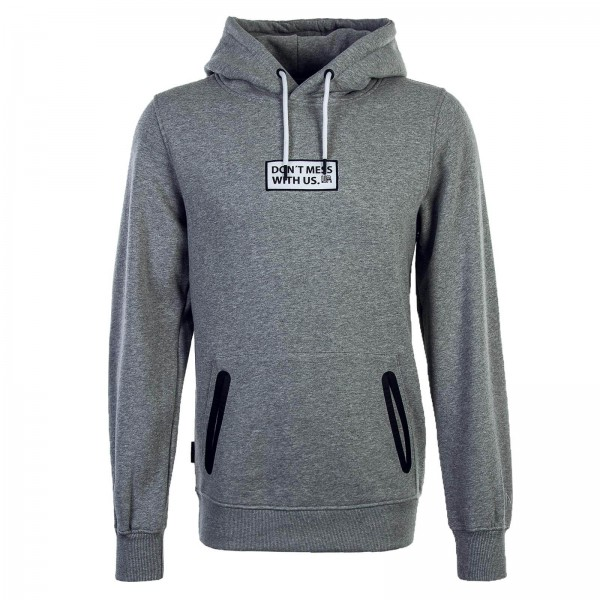 Unfair Athl. Hoody Statement Grey White