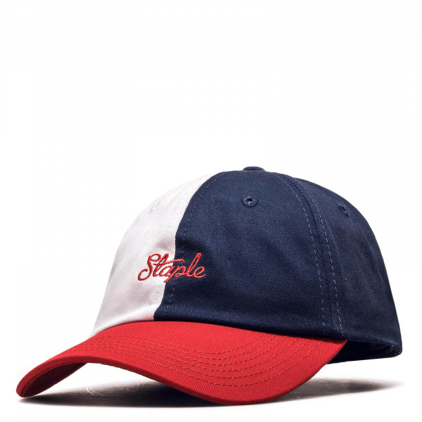Staple Cap Pigeon Twill Navy White Red