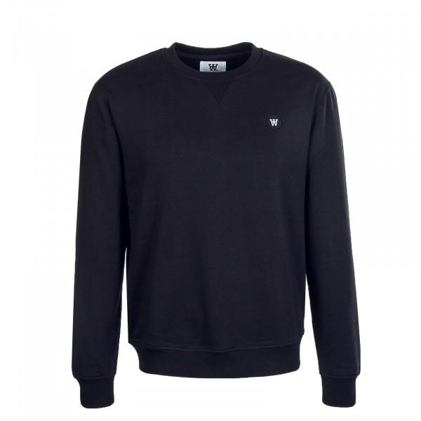 Herren Sweatshirt Tye Black