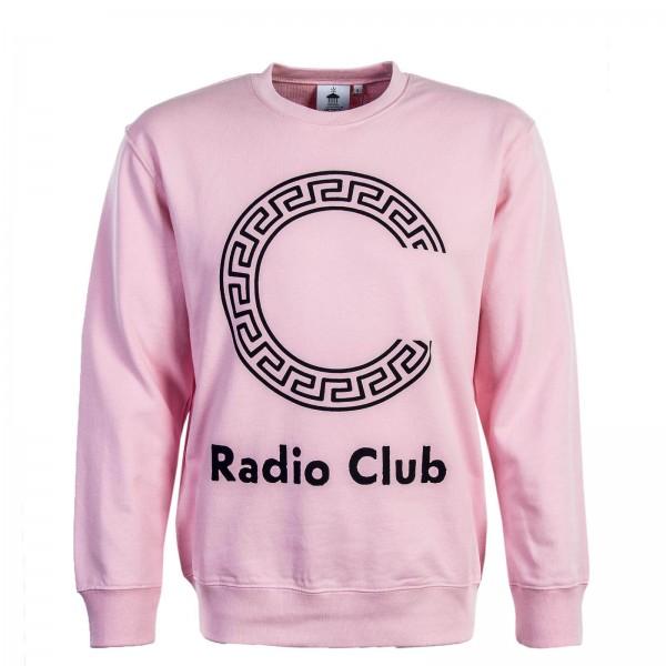 Carhartt Sweat Radio Club Pink Black